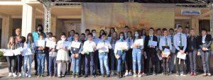 Борислава Борисова връчи златните медали на първенците в XVII-то Димитровденско математическо състезание(Снимки)