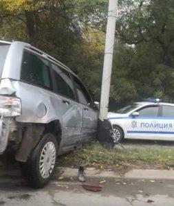 Водачът прегазил полицаи в столицата, не бил от Видин, след гонка с полицията се стигнало до стрелба(Обновена/Снимки)