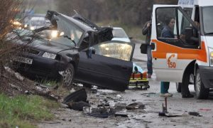 Катастрофа с пострадали, край Вършец