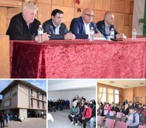Кметът на Видин се срещна с жителите на Новоселци и Дунавци