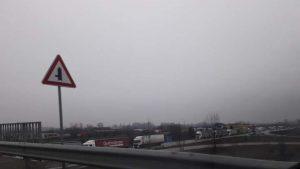 Над 10 км. опашка от тирове на Дунав мост 2 (Снимки)