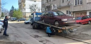 Над 550 неизползваеми автомобили са премахнати във Враца