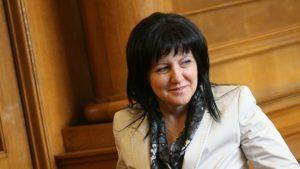 Очаква се НС да гласува оставката на Цвета Караянчева