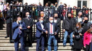 Прокурори протестират заради промените в Закона за съдебната власт и НПК