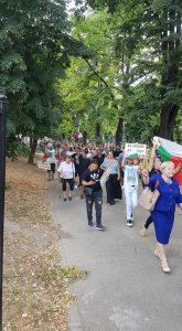 Трети антиправителствен протест във Видин (Снимки)