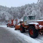 Усложнена зимна обстановка във Враца и населените места (Снимки)