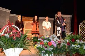 Общинският драматичен театър във Видин с първо представление през новата година( Снимки )
